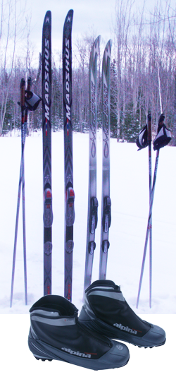 Devils Track Nordic Ski Shop Rental Equipment